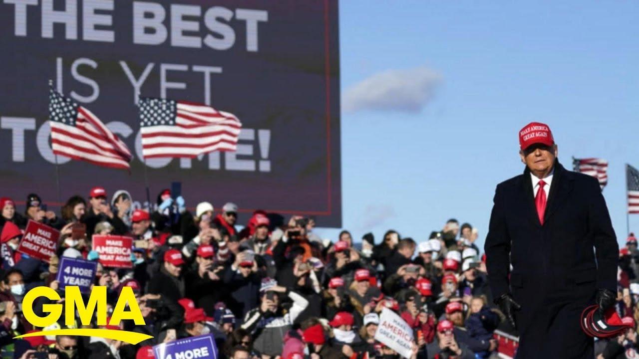 Mood inside President Trump's campaign l GMA