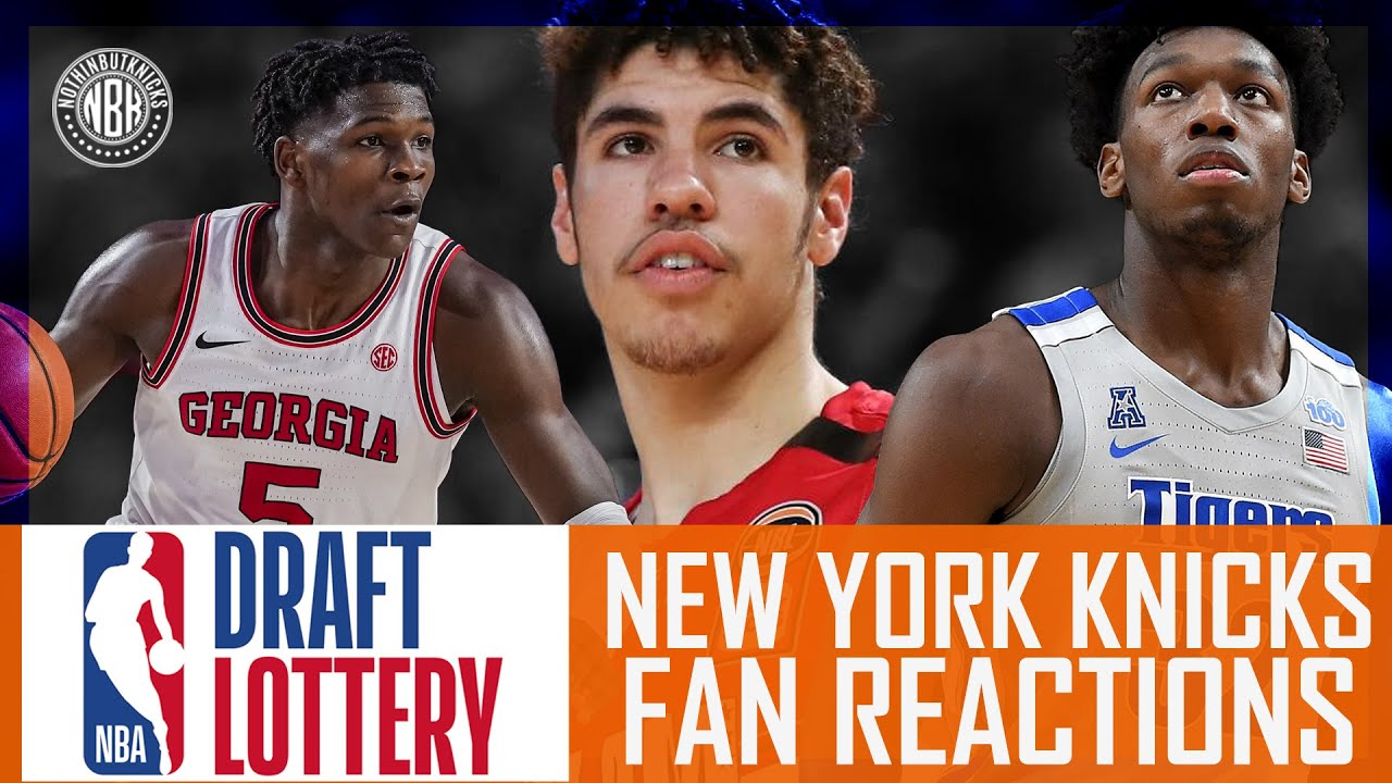 NBA Lottery | New York Knicks | Pre & Post Show Reaction and LIVE Call – In