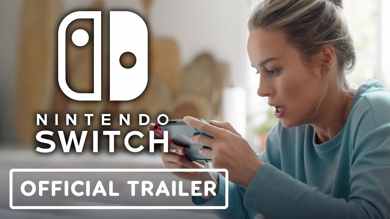 Nintendo Switch – Official Trailer (Brie Larson)