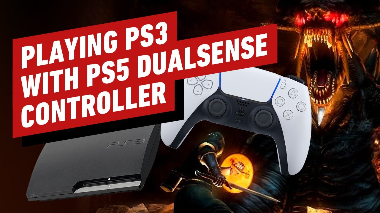 Playing the PS3 with the PS5 DualSense Controller