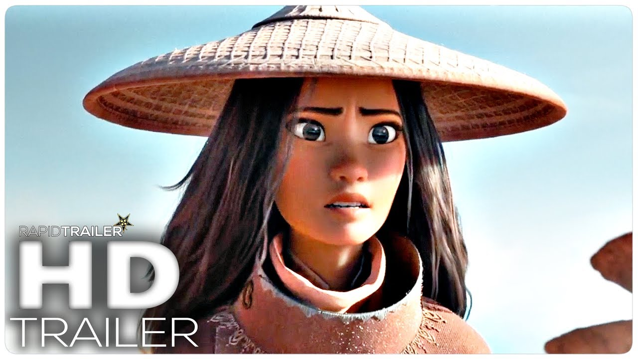 RAYA AND THE LAST DRAGON Official Trailer (2021) Disney, Animated Movie HD
