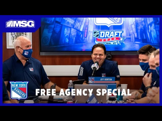 Reviewing the Rangers' Draft & Their Needs in Free Agency | New York Rangers