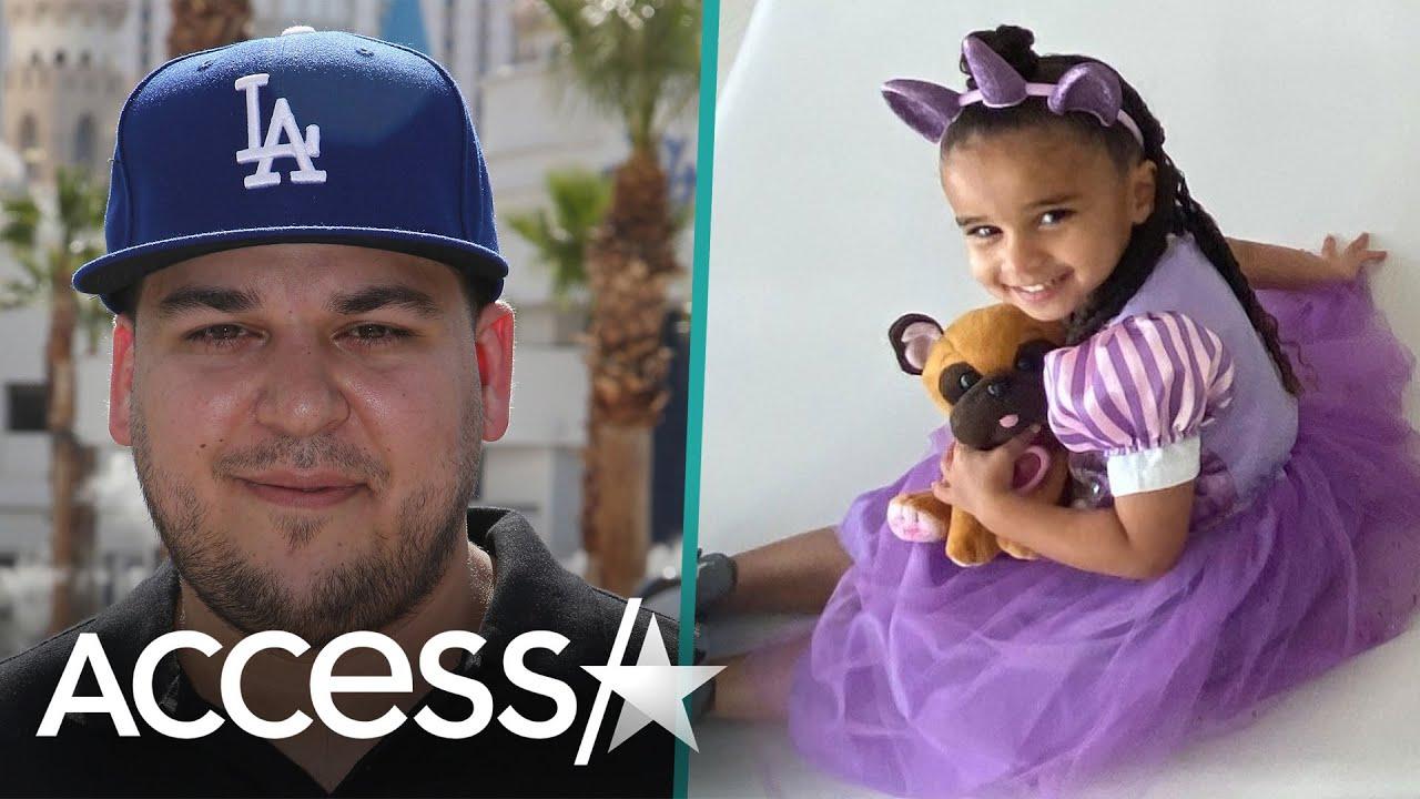 Rob Kardashian Celebrates Daughter Dream's Birthday