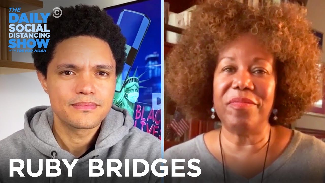 Ruby Bridges – Trailblazing as a Child in the Jim Crow South | The Daily Social Distancing Show