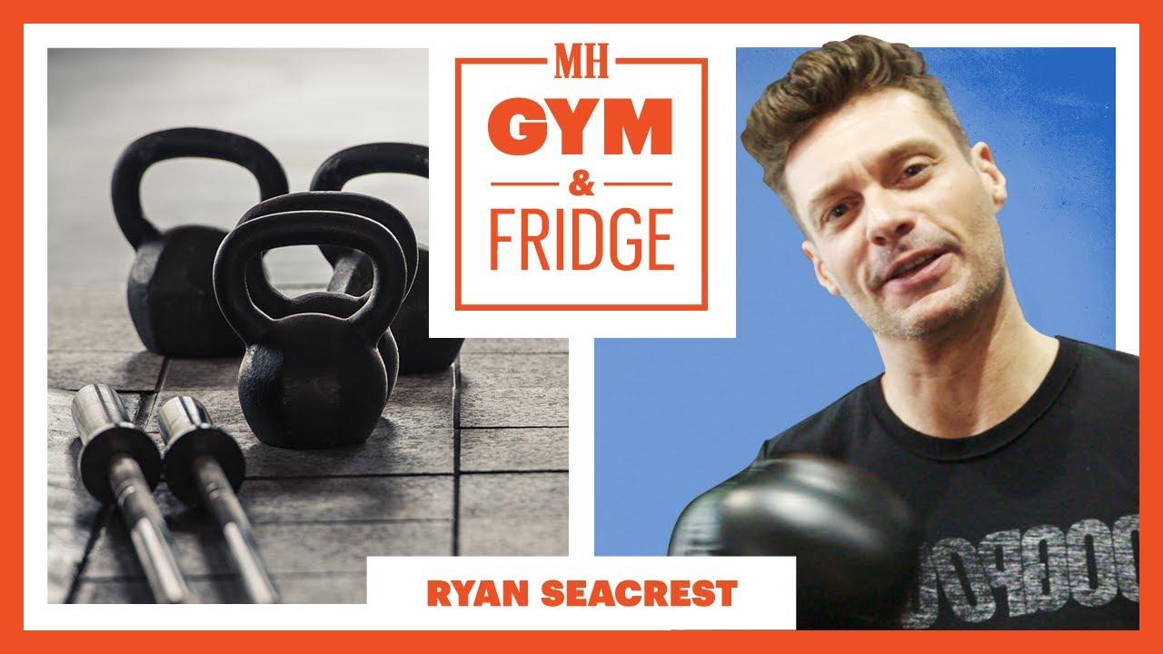 Ryan Seacrest Shows His Gym & Fridge | Gym and Fridge | Men's Health
