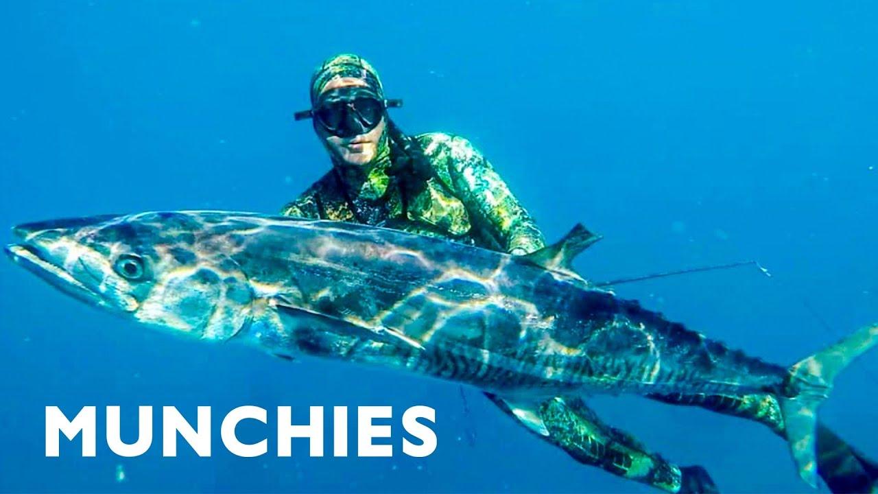 Spearfishing in Australia – Adventure Food