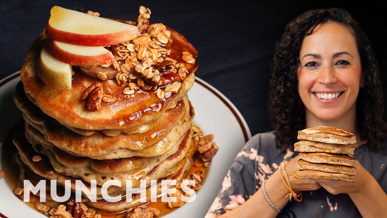 Spiced Apple Pancakes – The Cooking Show
