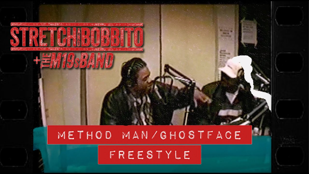 Stretch and Bobbito – Method Man + Ghostface Freestyle (The M19s Band Remix) [Official Music Video]