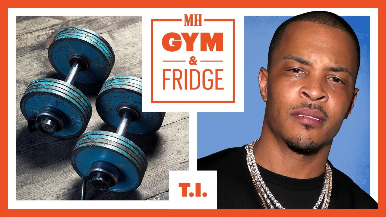T.I Shows His Gym & Fridge | Gym & Fridge | Men's Health