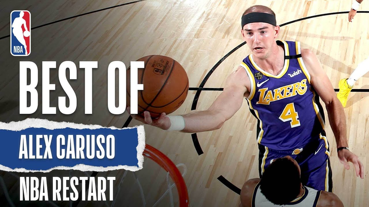 The CaruSHOW | The Best of Alex Caruso From NBA Restart!