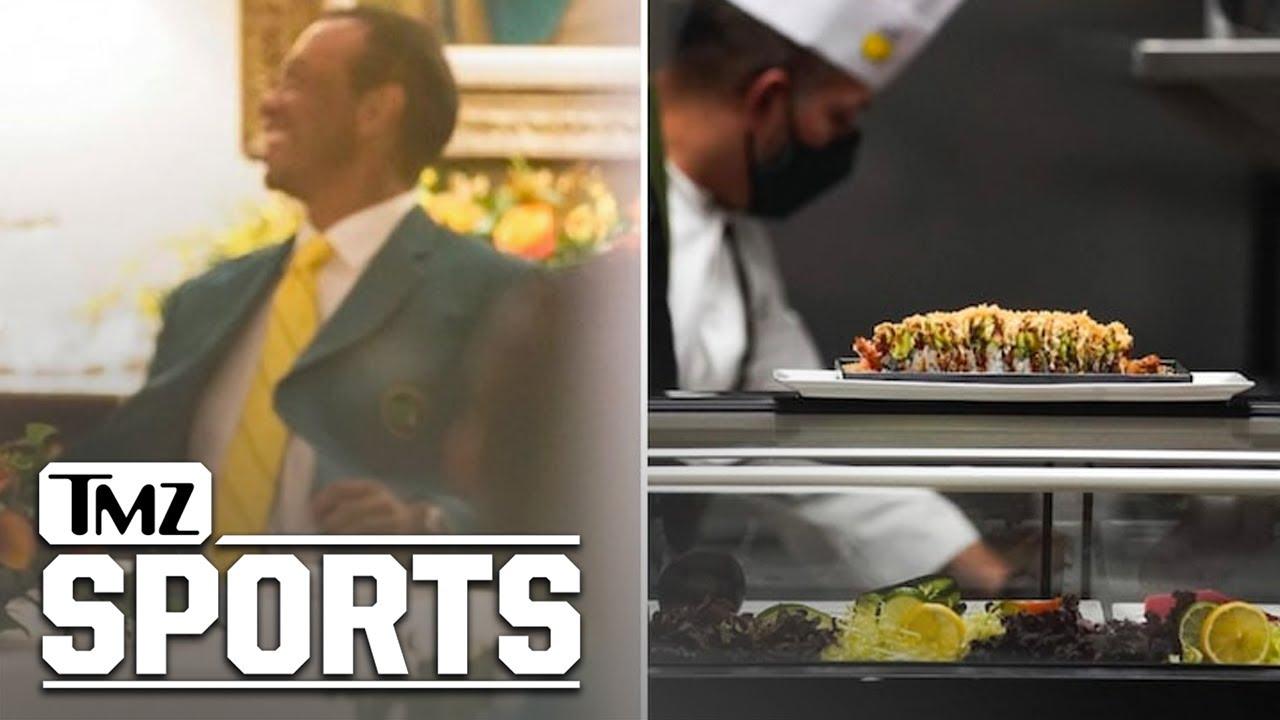 Tiger Woods Finally Hosts Masters Champions Dinner, Sushi And Fajitas! | TMZ Sports