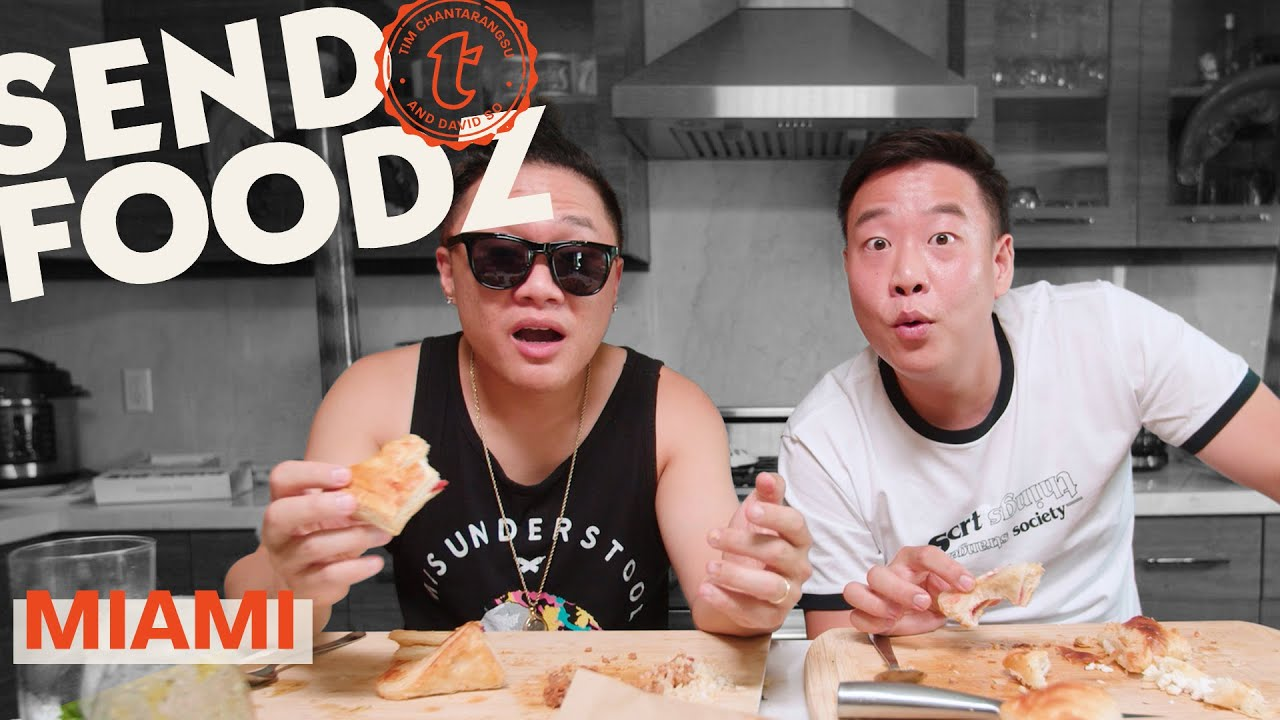 Tim and David Get a Mouthful of Miami | Send Foodz