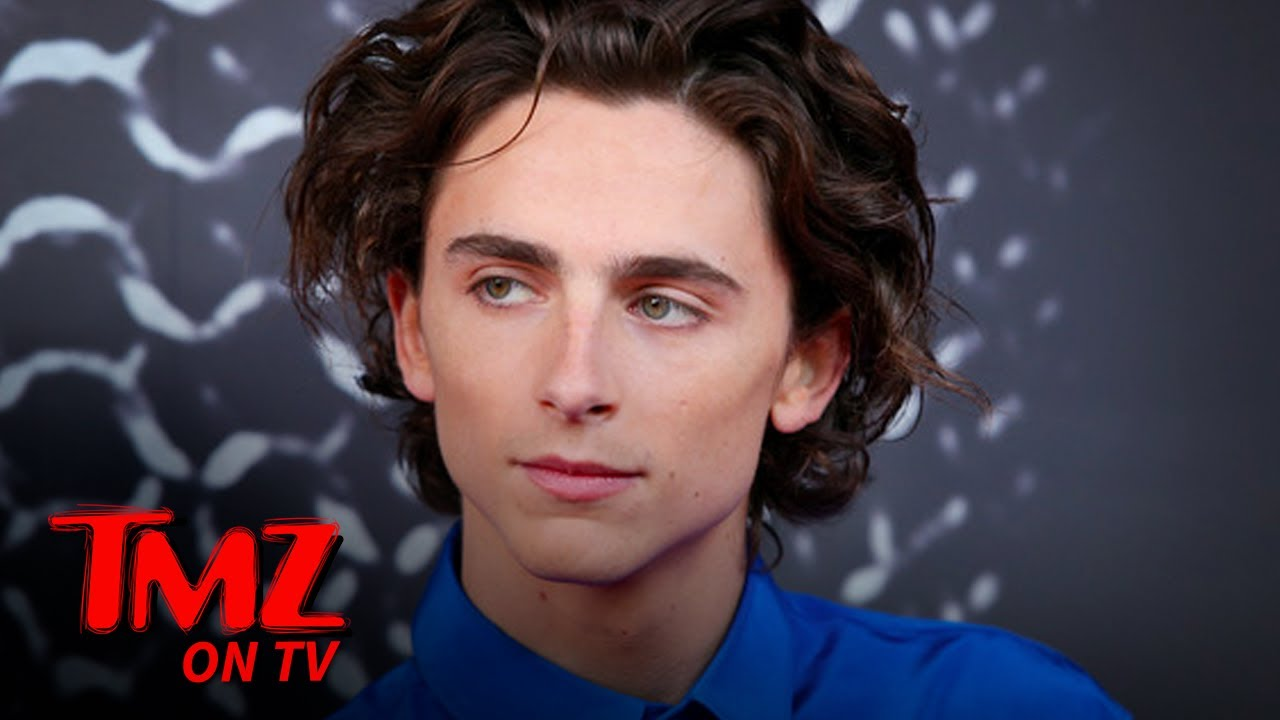 Timothée Chalamet Spotted With A Hickey On His Neck | TMZ TV
