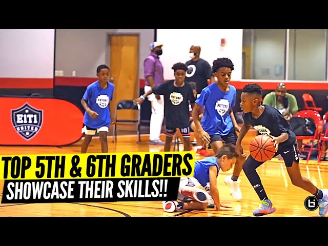 Top 5th & 6th Grade Hoopers Show OUT In Front of NBA Players!!