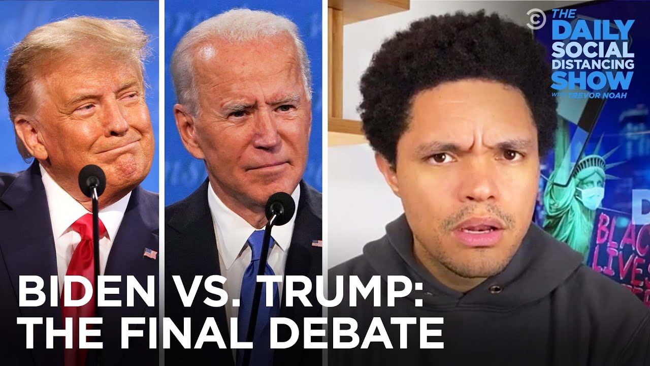 Trump and Biden Spar Over Lincoln, Child Detention and Race | The Daily Social Distancing Show