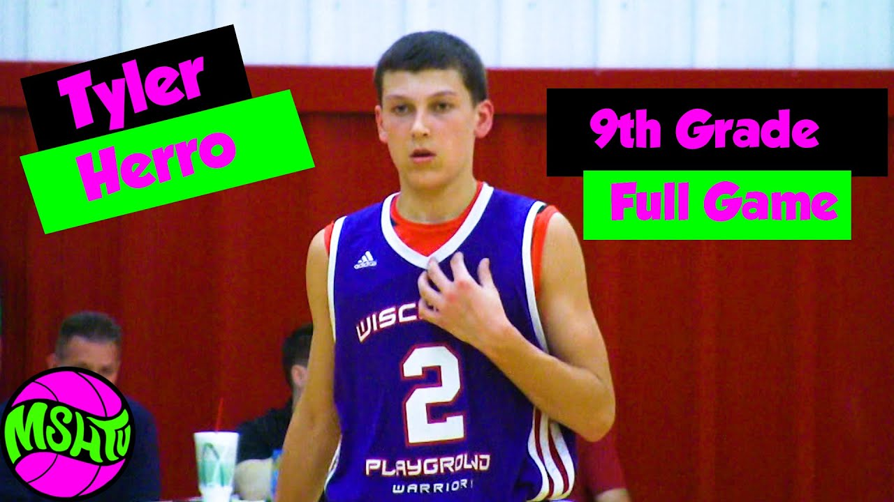 Tyler Herro 9TH GRADE FULL GAME - 2015 AAU Game at Spiece
