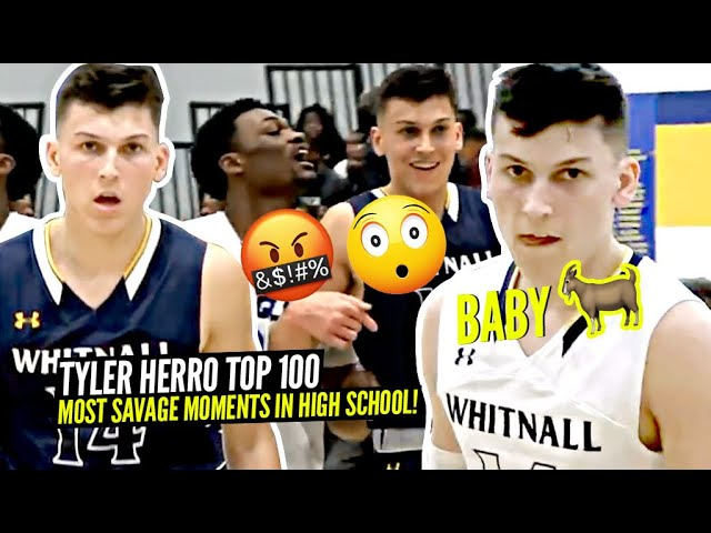 Tyler Herro Top 100 MOST SAVAGE Moments From High School!! MANY TALKED TRASH & MANY PAID THE PRICE!
