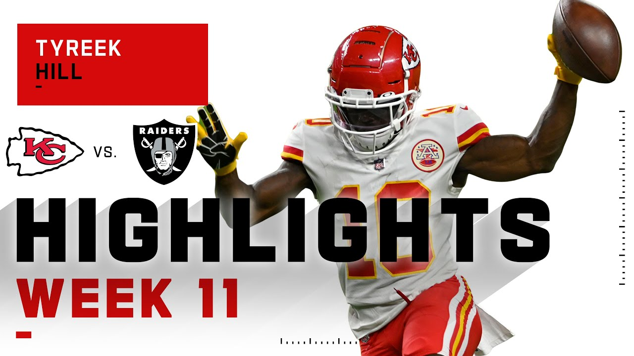 Tyreek Hill Zips Past Raiders w/ 102 Receiving Yds | NFL 2020 Highlights