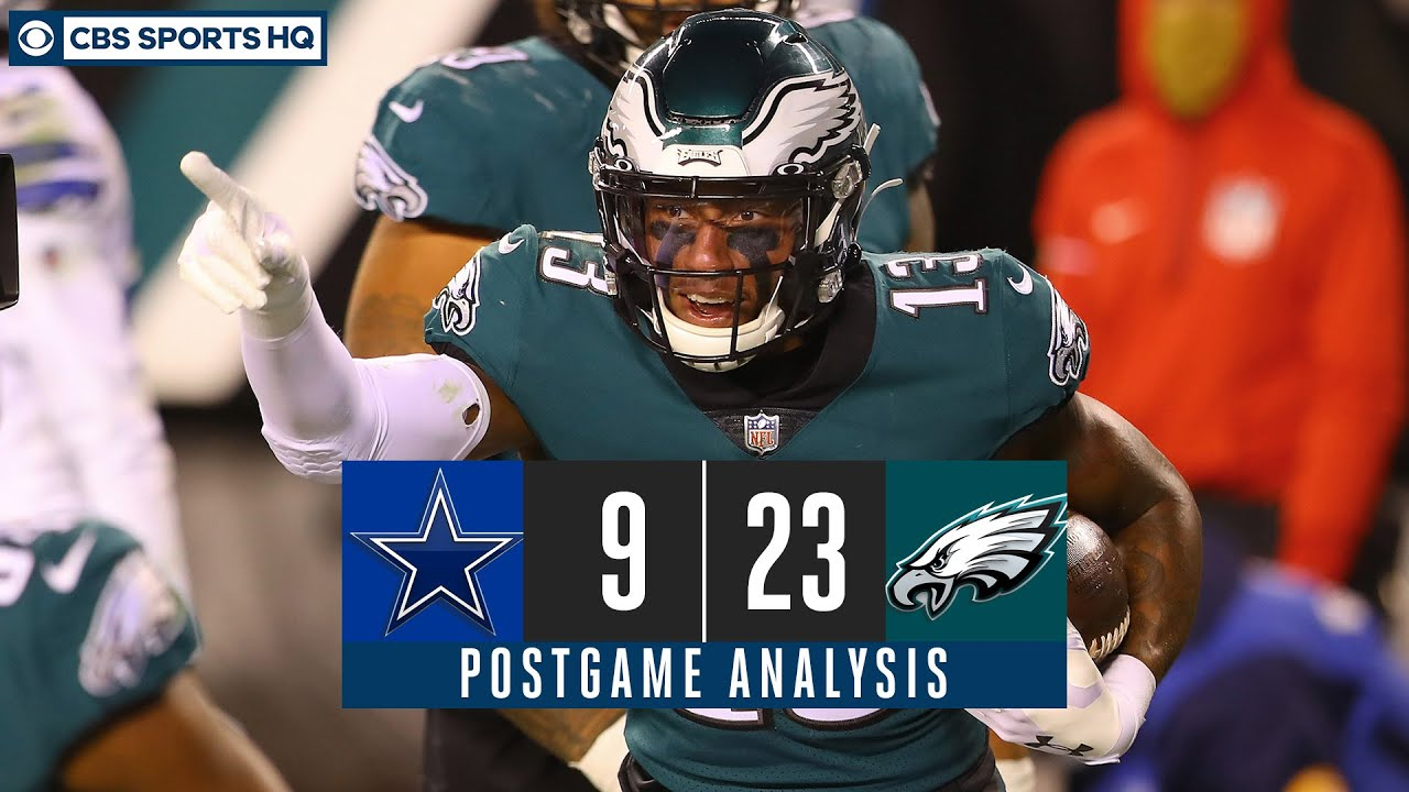 Week 8 Recap: Eagles outlast Cowboys in ugly Sunday Night game, build division lead | CBS Sports HQ