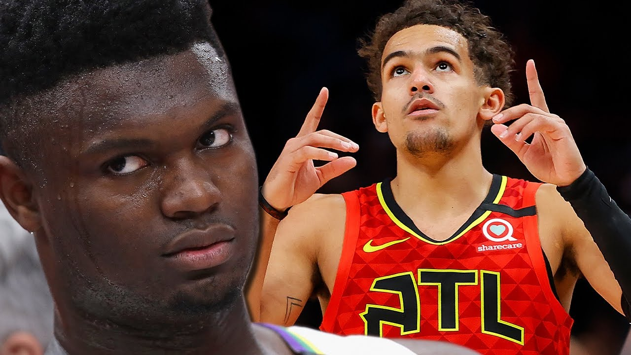 Zion Williamson Gets SHADED By Being Told He WON'T Have A Better Career Than Trae Young