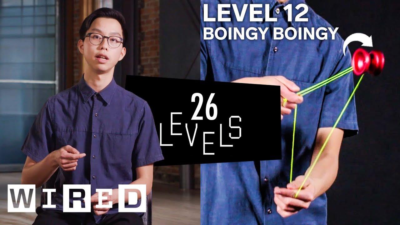 26 Levels of Yo-Yo Tricks: Easy to Complex | WIRED