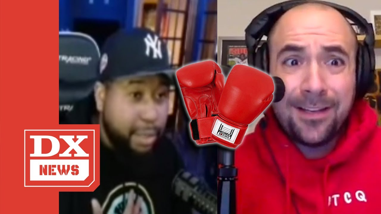 Akademiks Challenges Peter Rosenberg To Boxing Sparring Session  'You Talking Way Too Crazy'