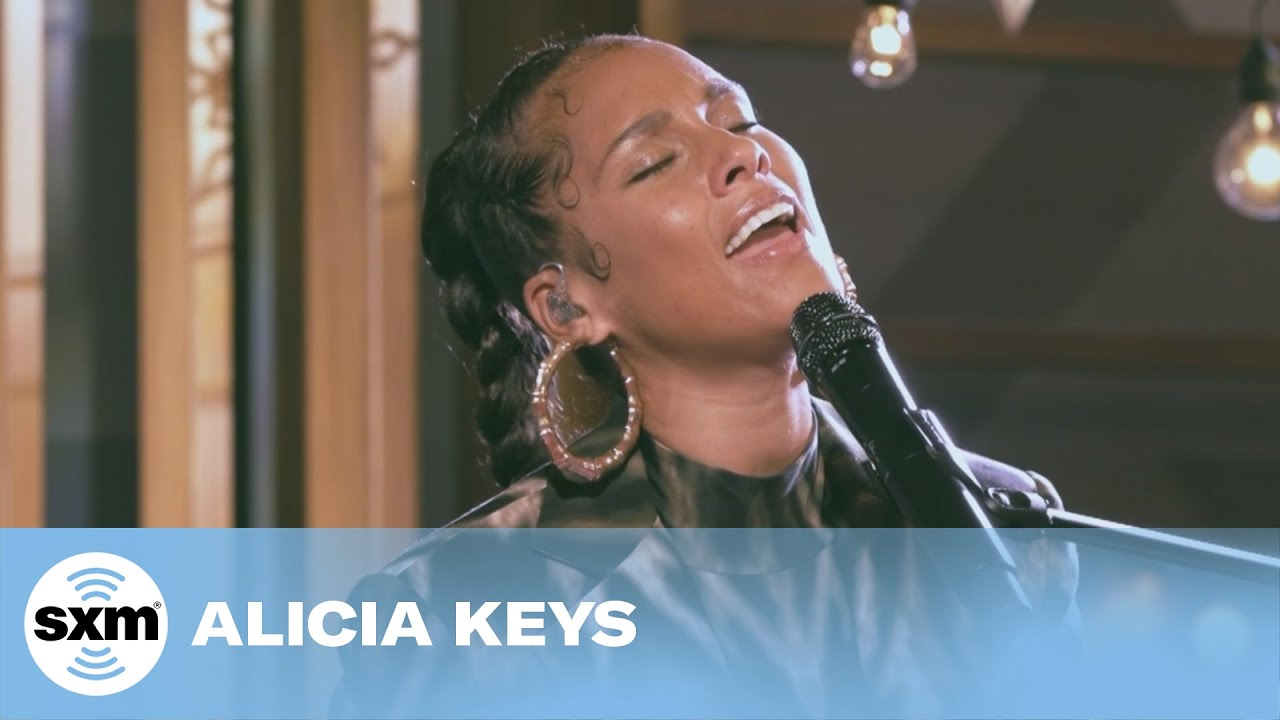 Alicia Keys – Ave Maria and Fallin' Medley [Live for SiriusXM]