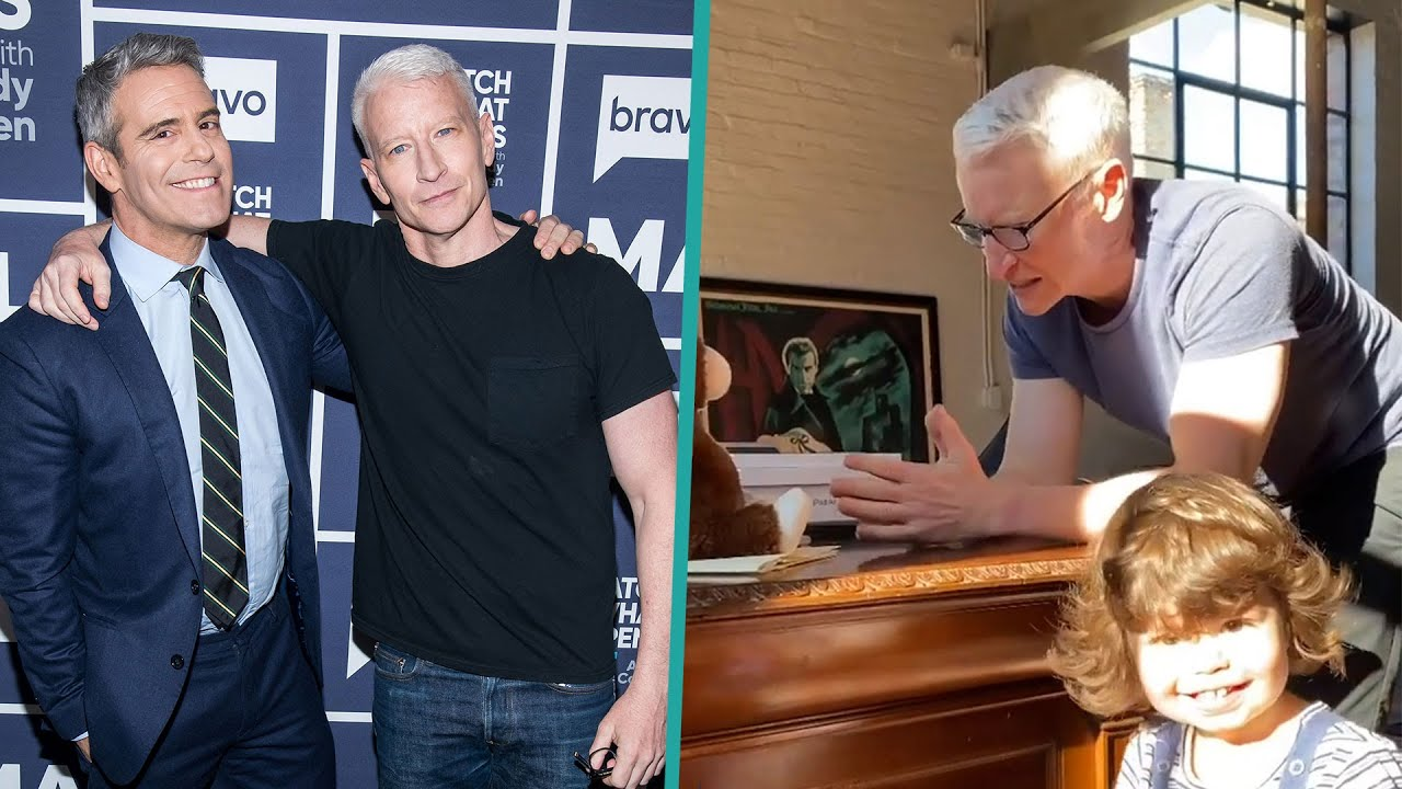 Anderson Cooper Sings Along w/Andy Cohen's Son Ben