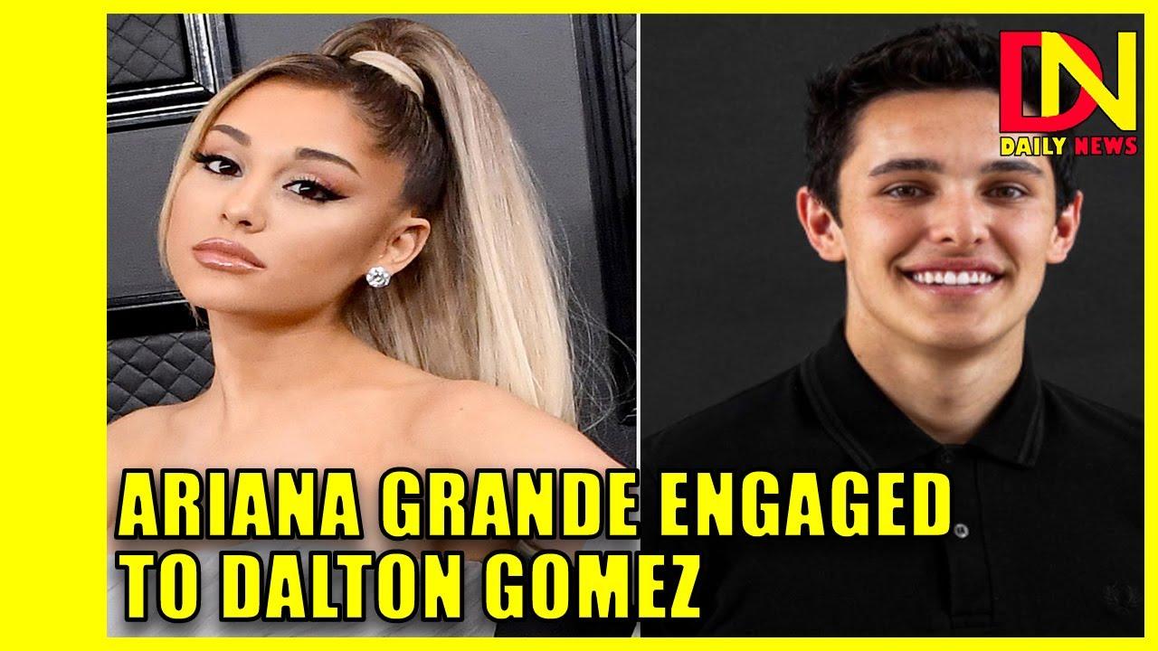 Ariana Grande Announces Engagement to Dalton Gomez