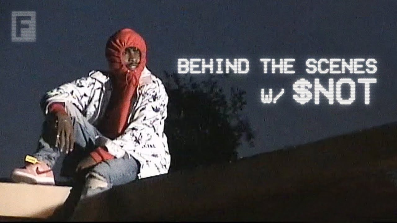 """Behind The Scenes on $not's """"Mean"""" Video Shoot ft. Flo Milli & Cole Bennett"""