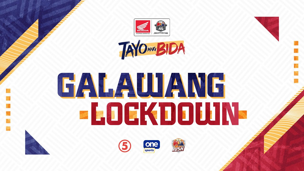 Bida Highlights: Galawang Lockdown   PBA Bubble Semifinals