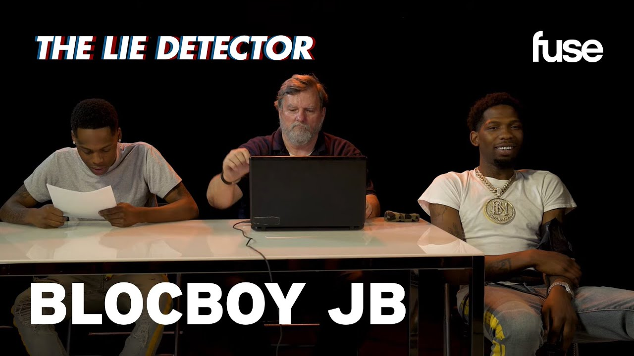 BlocBoy JB Takes a Lie Detector Test: Does He Rap in the Mirror? | Fuse