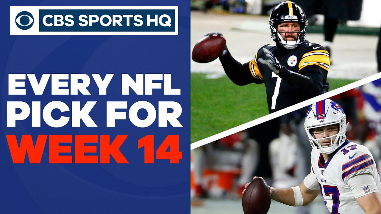 Brady Quinn and Pete Prisco make EVERY WEEK 14 PICK | CBS Sports HQ