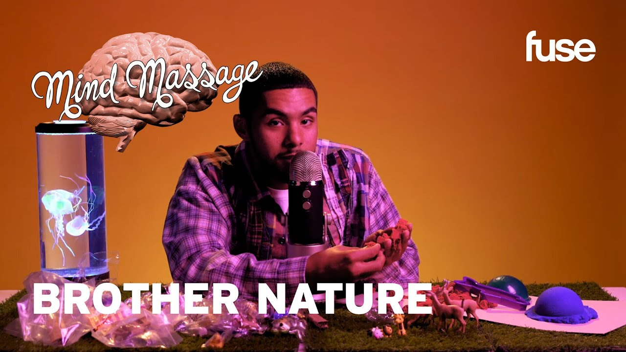 Brother Nature Does ASMR with Kinetic Sand, Talks Viral Animal Videos & More! | Mind Massage | Fuse