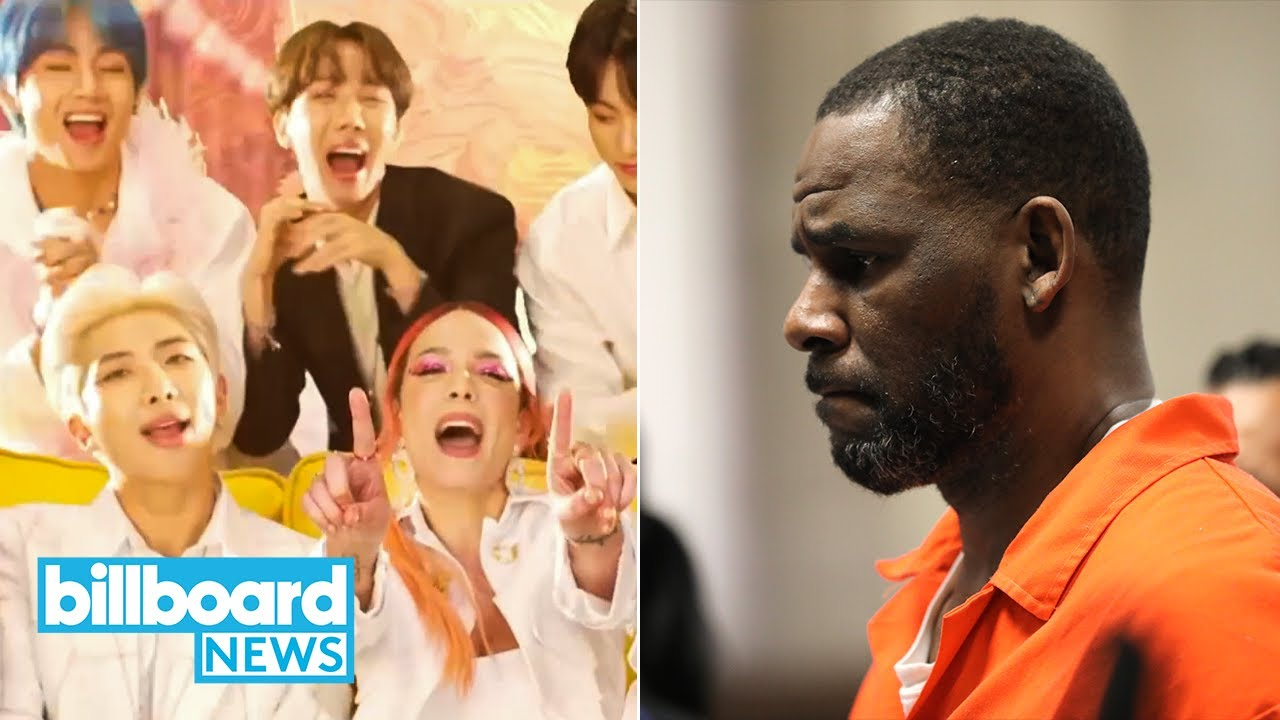 BTS and Halsey Hit Major Milestone, R. Kelly Assailant Gets Sentenced and More | Billboard News
