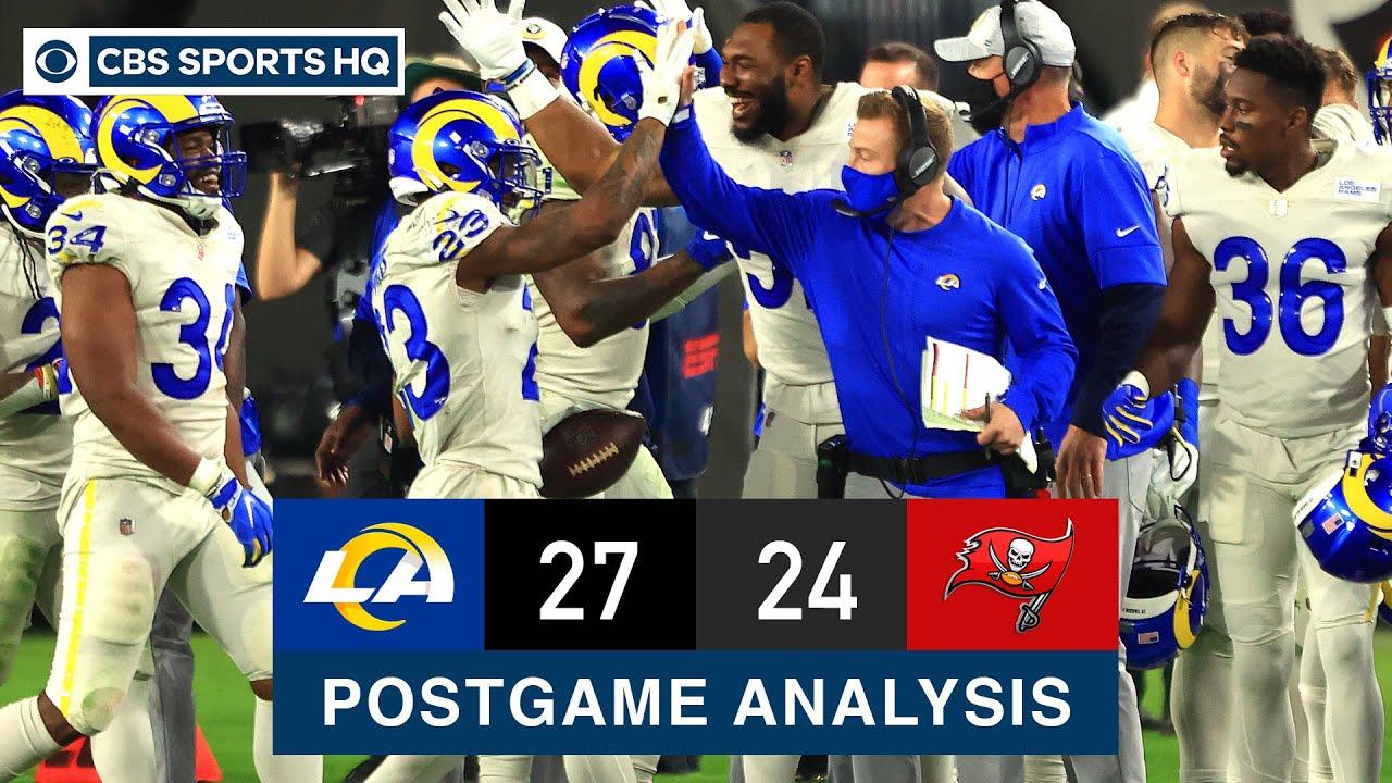 Buccaneers vs. Rams Recap: Cooper Kupp, Robert Woods dazzle in Week 11 victory | CBS Sports HQ