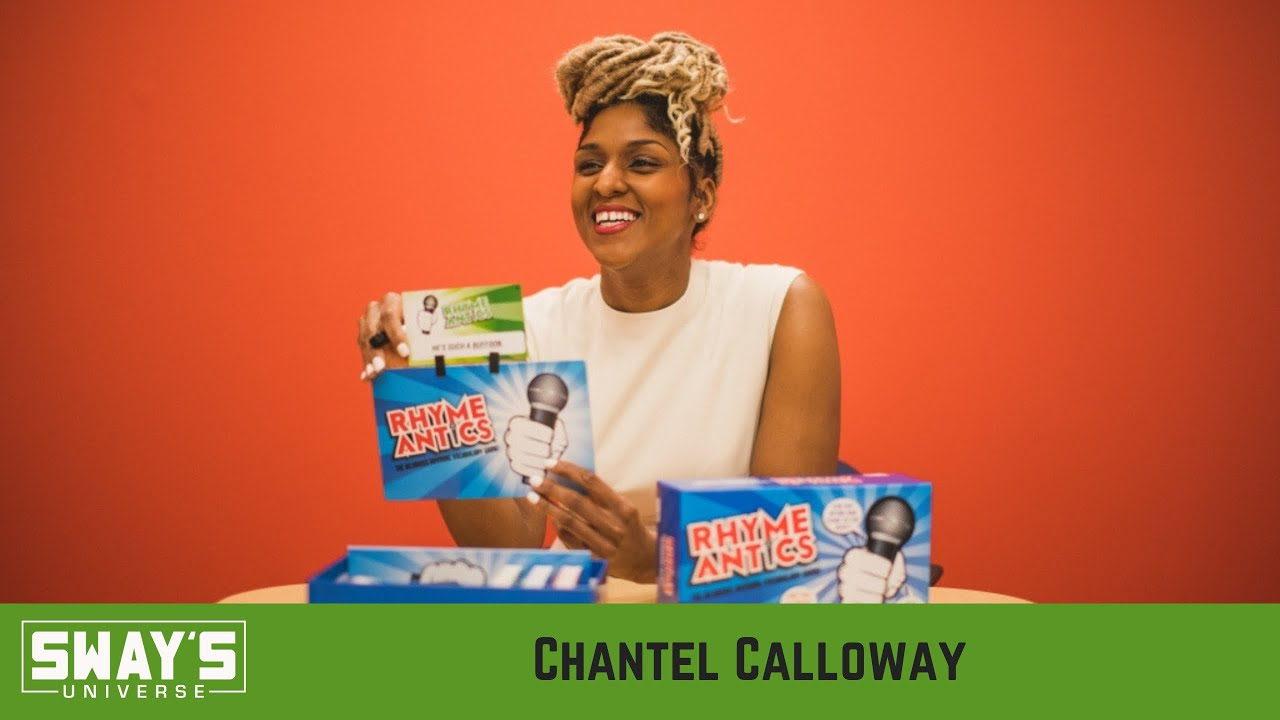 Chantel Calloway Introduces New Literacy Game 'Rhyme Antics' For The Holidays | SWAY'S UNIVERSE
