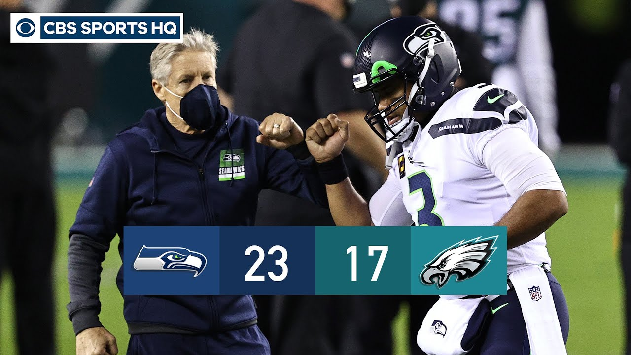 D.K. Metcalf goes off as Seahawks cruise past Eagles on 'MNF' | Recap | CBS Sports HQ