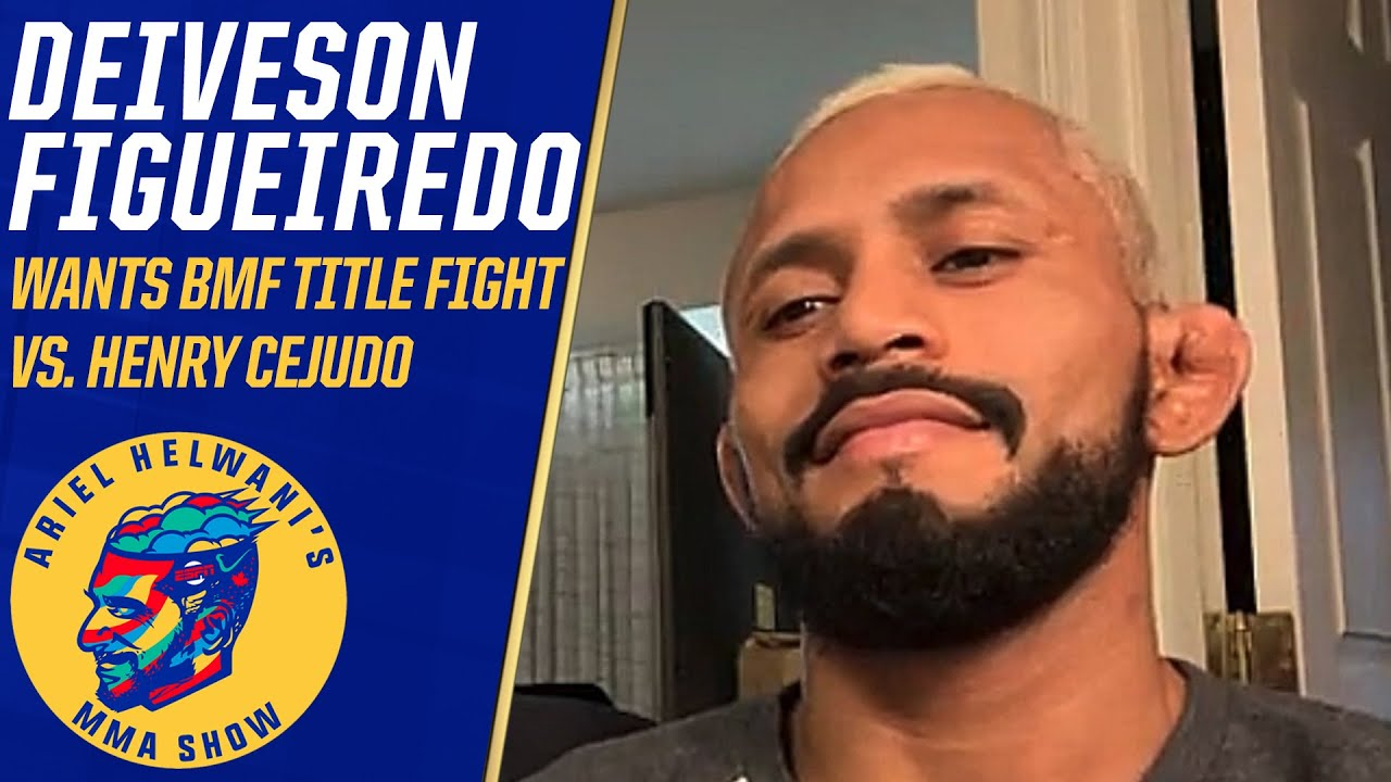 Deiveison Figueiredo wants BMF title fight vs. Henry Cejudo after UFC 256 | Ariel Helwani's MMA Show
