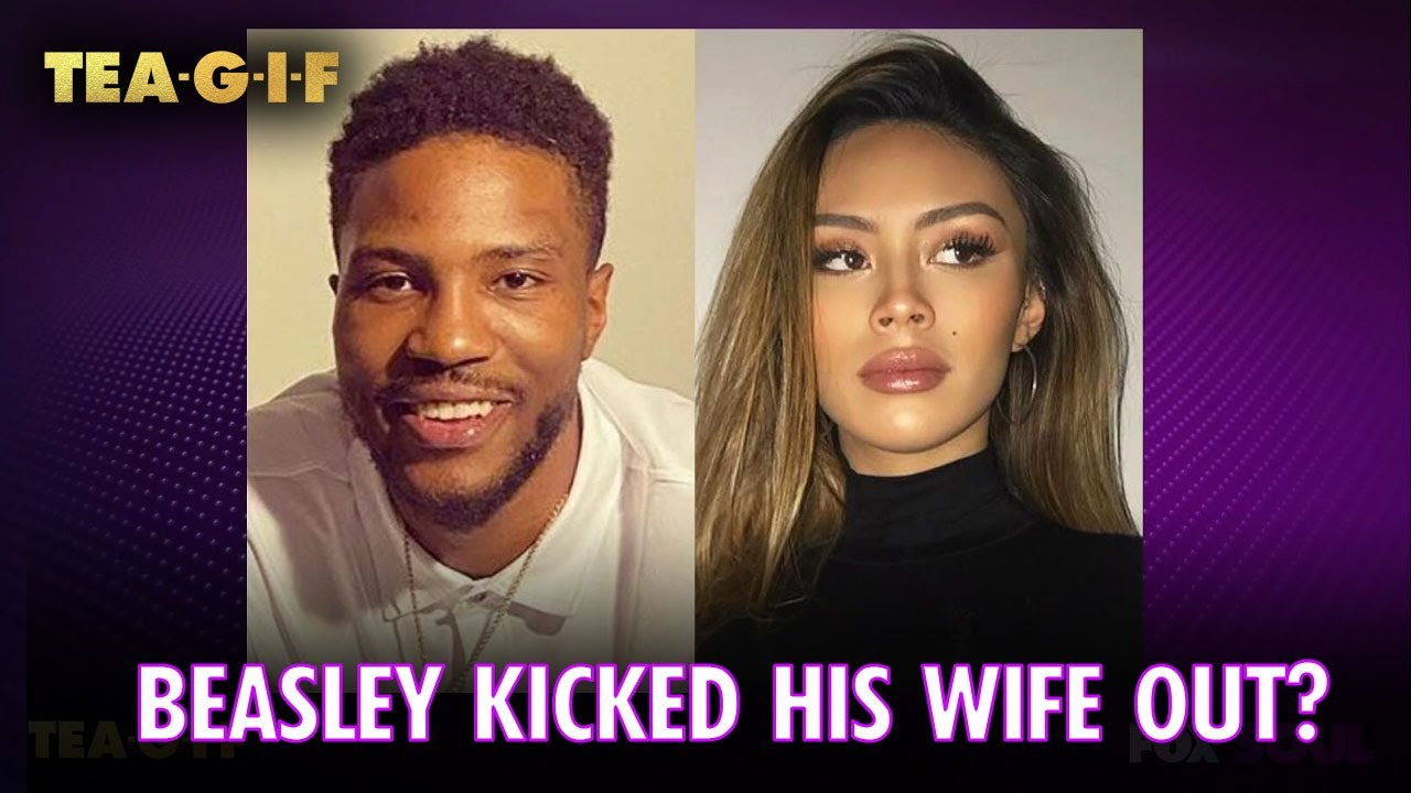 Did Malik Beasley Kick His Wife Out for Larsa Pippen? | Tea-G-I-F