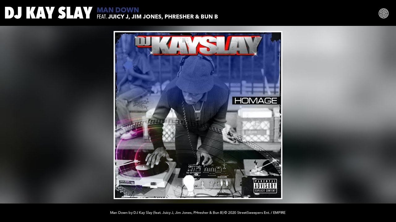 DJ Kayslay – Man Down ft. Juicy J, Jim Jones, PHresher, Bun B, Pesh Mayweather [AUDIO]