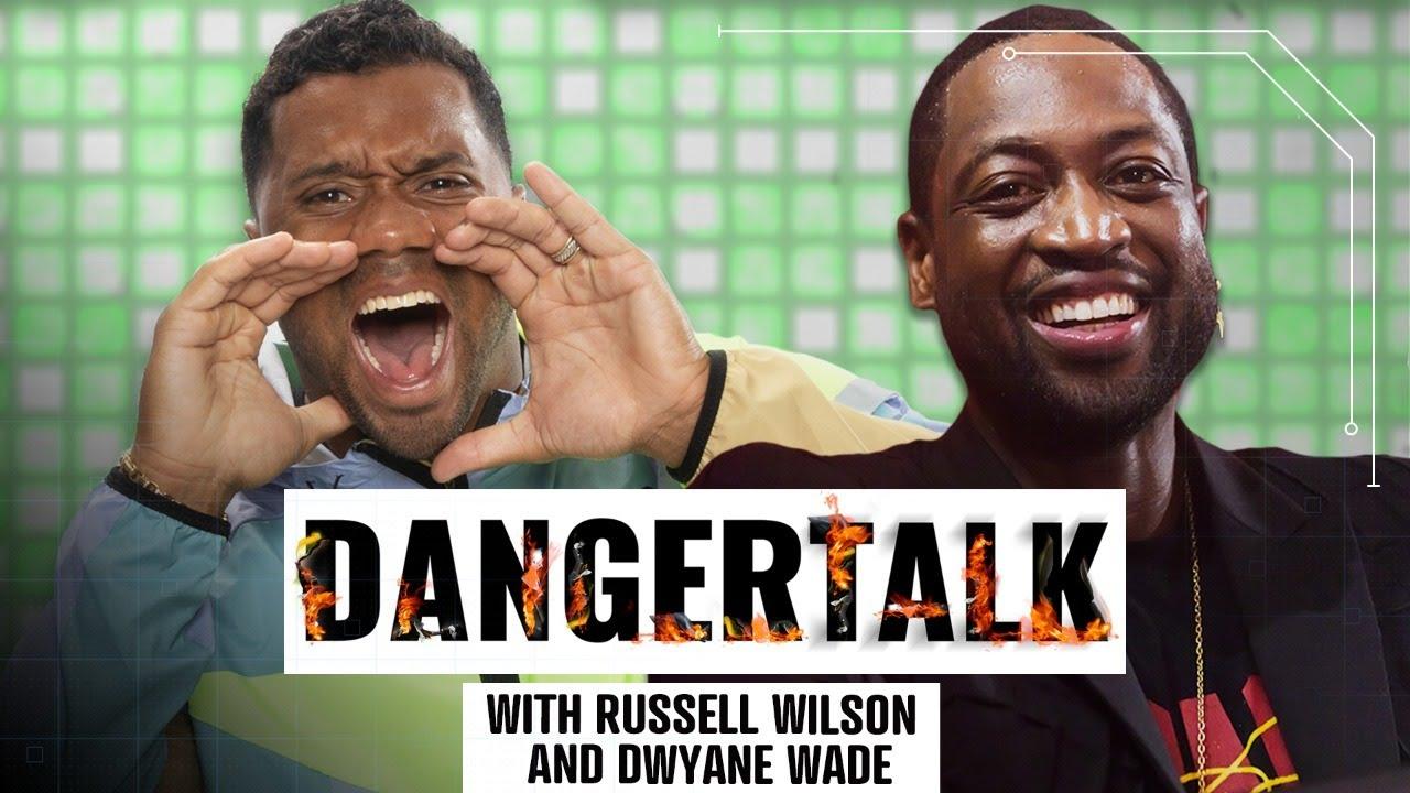 Dwyane Wade tells Russell Wilson about one of his favorite memories of Kobe Bryant | DangerTalk