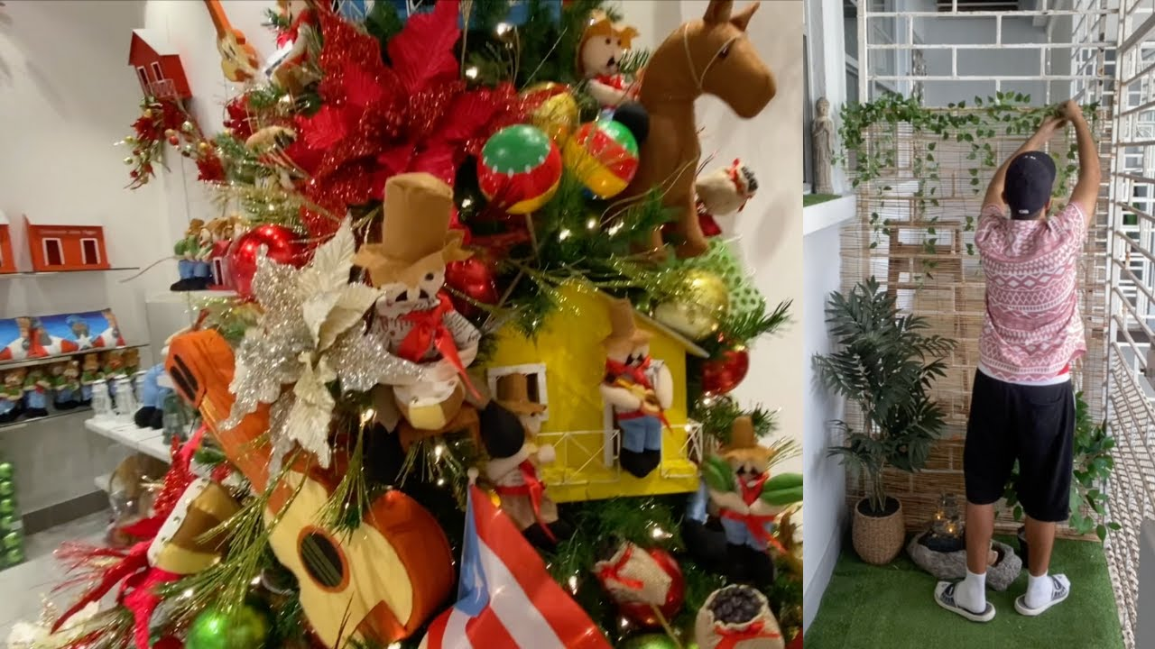 First Time Christmas Decorating in Puerto Rico & See How My Garden Idea Comes to Life!