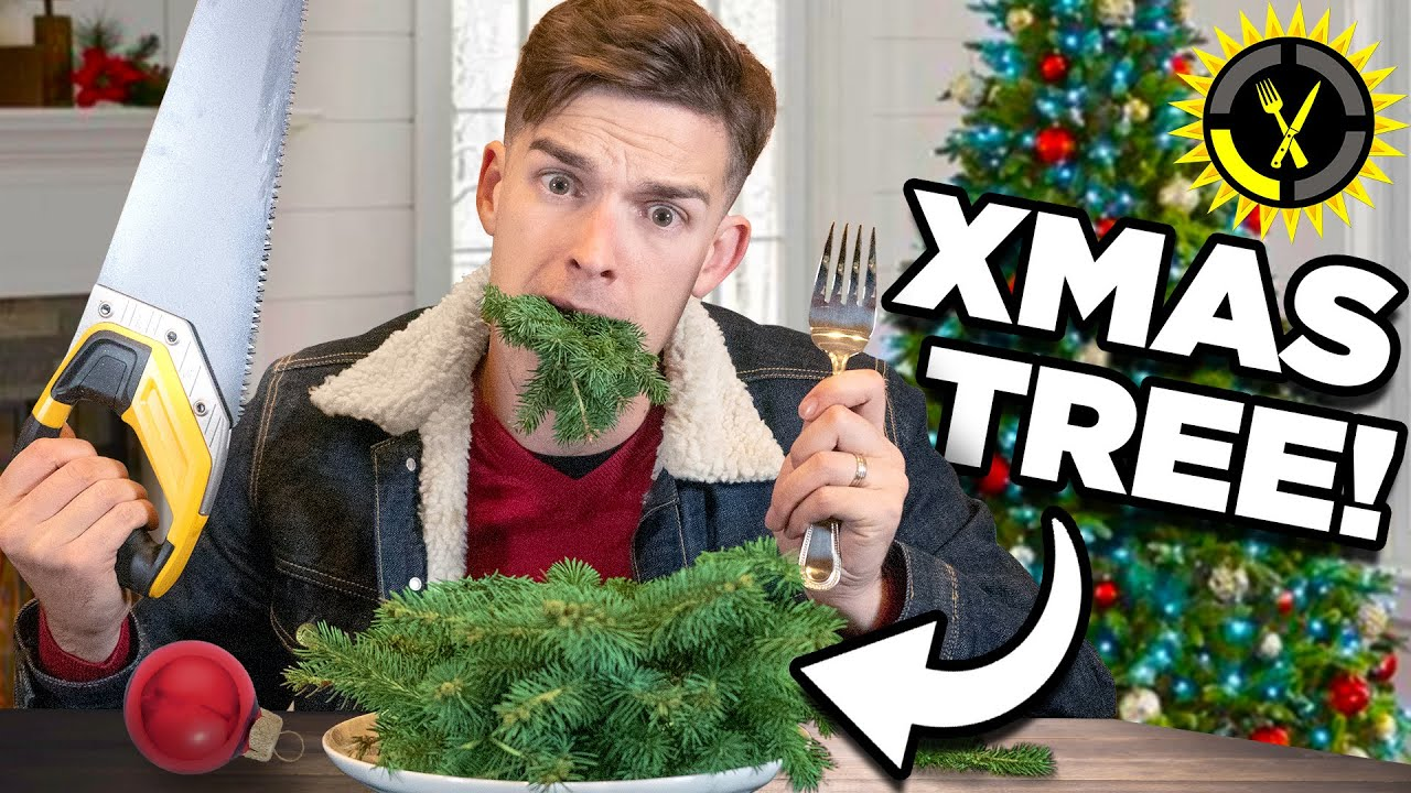 Food Theory: I Ate My Whole Christmas Tree… And So Can You!