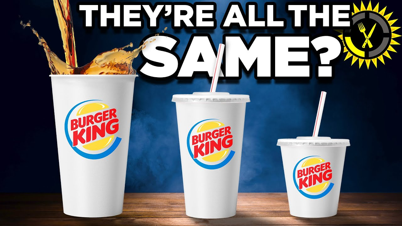 Food Theory: Never Order A Burger King Medium Soda!