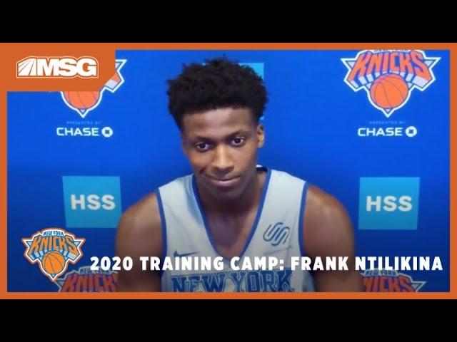 "Frank Ntilikina: ""We're Ready to Play Some Really Intense Defense"" | New York Knicks"