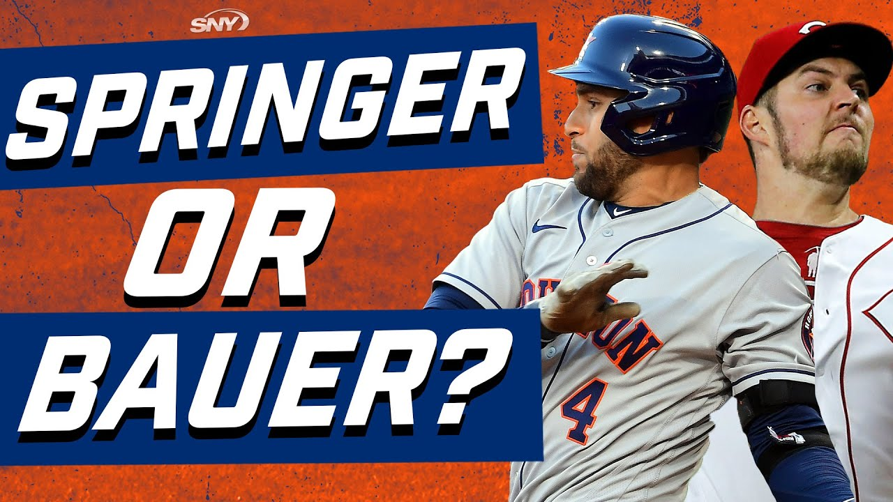 George Springer or Trevor Bauer: Who should be the next priority for the Mets? | New York Mets | SNY