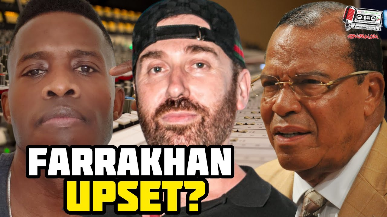 Godfrey Details Getting A Call From Farrakhan After DJ Vlad Misquoted The Minister!