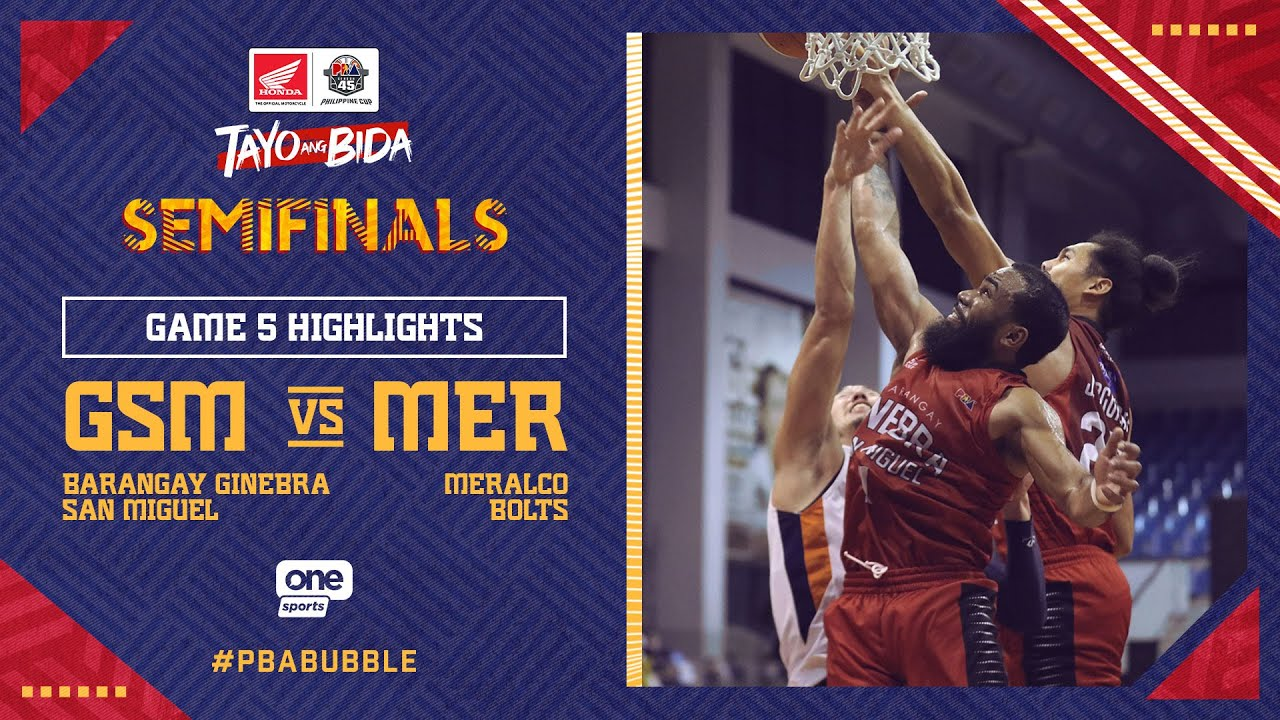 Highlights G5: Ginebra vs Meralco   PBA Philippine Cup 2020 Semifinals