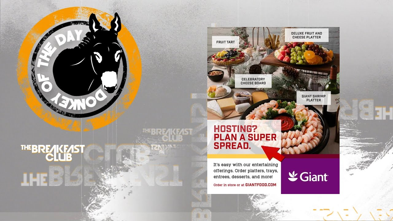 """Hosting? Plan A Super Spread"" Giant Food Stores Apologize For Tone-Deaf Ad"